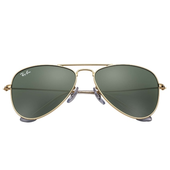 Ray-Ban Other - NEW! Ray-Ban Kids Aviator Sunglasses (Gold/Green)